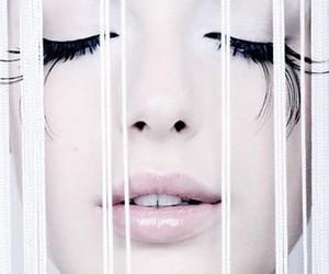 beauty, eyelashes, and liquid image