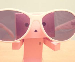 cute, danbo, and sunglasses image