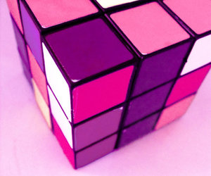 pink, cube, and cute image