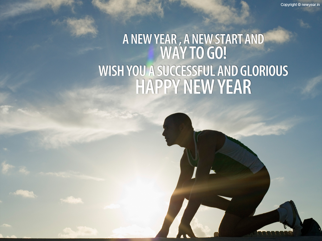 New Year Motivational Wallpaper shared by Mydear Valentine