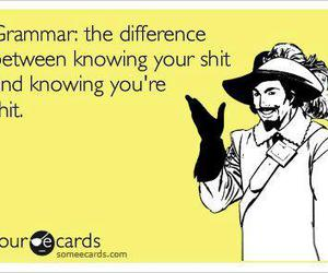 grammar, funny, and lol image