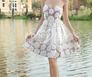 chic, fashion trends, and prom dresses image