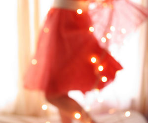 light, skirt, and red image