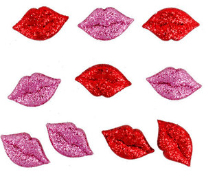 etsy, glitter, and lips image