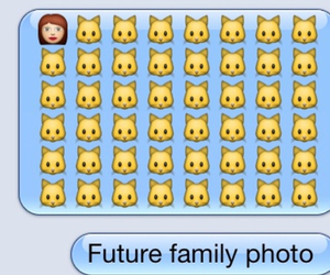 cat, family, and funny image