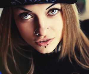 girl, salat, and tattoo image