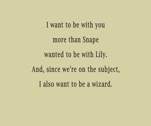 harry potter, snape, and love image