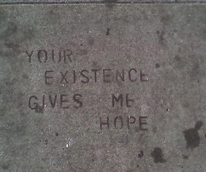 hope, text, and Existence image