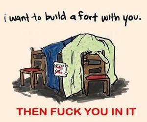 childhood, fuck yeah, and fort image