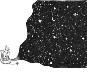stars, drawing, and illustration image