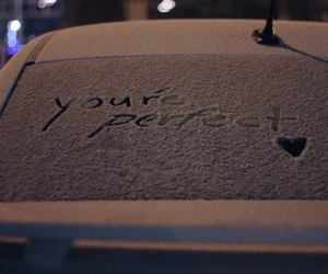 perfect, love, and snow image