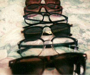 vintage and glasses image