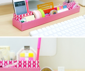 colors, organization, and pink image
