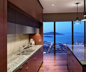 kitchen, luxury, and view image
