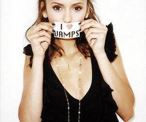 Nina Dobrev, vampire, and vamps image