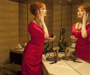 Christina Hendricks, fashion, and Hot image