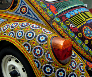 car, beetle, and hippie image