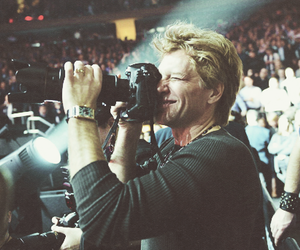 camera, bon jovi, and jon bon jovi image