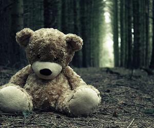 bear, alone, and sad image