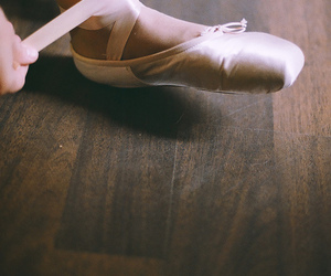 ballerina, faded, and light image