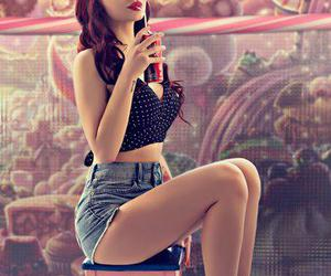 girl, Pin Up, and sexy image