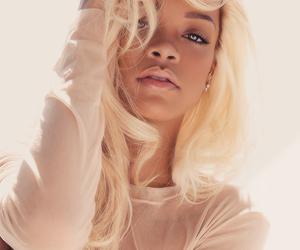 blond, hair, and rihanna image