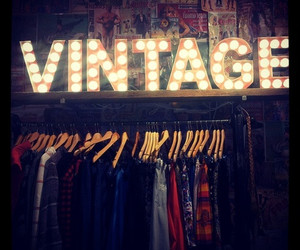 vintage, clothes, and light image