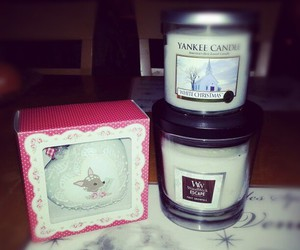 bambi, winter, and yankee candle image