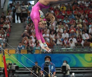 2008, gold, and leotard image
