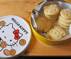 Cookies, hello kitty, and kitty image