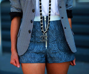 fashion, chanel, and shorts image