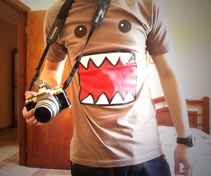 domo, boy, and camera image