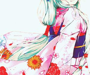 anime and kimono image