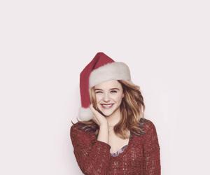 christmas, chloe moretz, and cute image