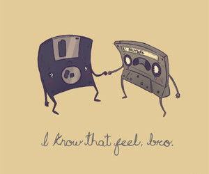 bro, funny, and cassette image