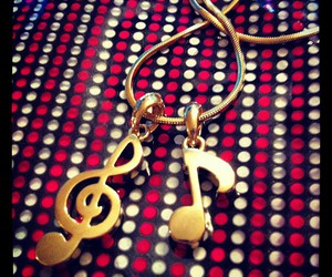 fashion, gold, and music image