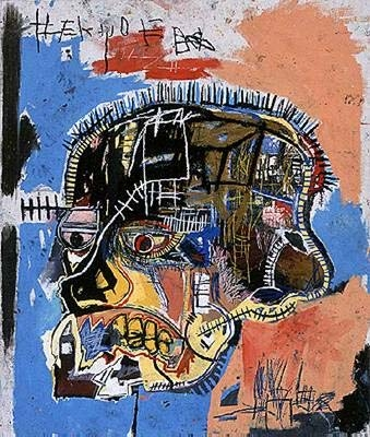art, basquiat, and painting image