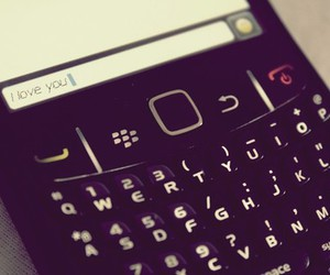 love, blackberry, and I Love You image