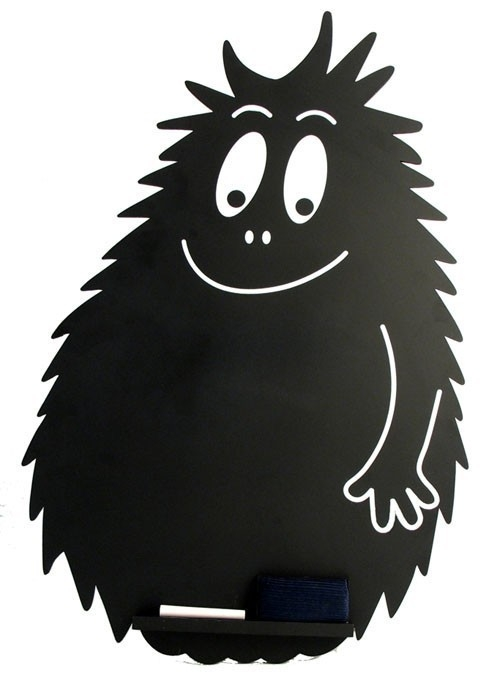 barbapapa and black image
