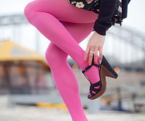 pink tights image