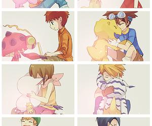 digimon, anime, and childhood image