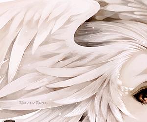angel, anime, and eyes image