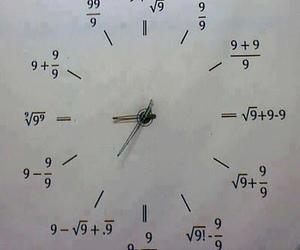 clock, math, and time image