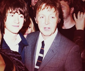 alex turner, Paul McCartney, and arctic monkeys image