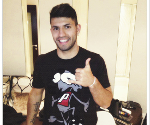 manchester city, sergio aguero, and argentina nt image