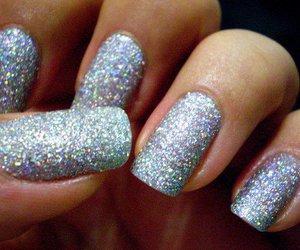 nails, glitter, and nailpolish image