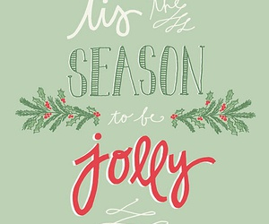 christmas, green, and quote image