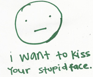 kiss, love, and face image
