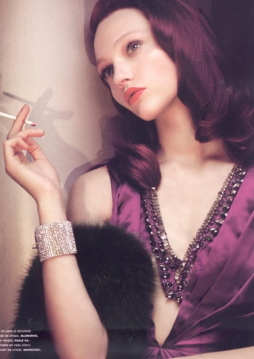 cigarette, fashion, and model image