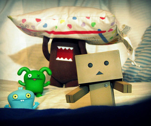 domo, cute, and pillow image